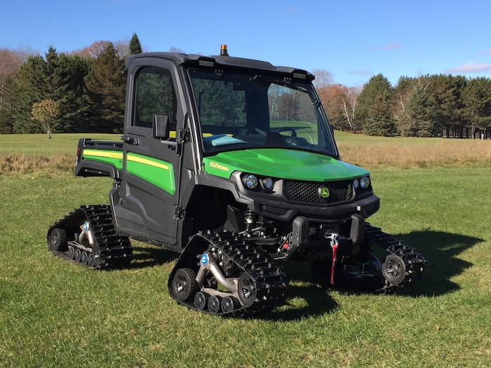 John Deer UTV 825i with Quad Tracks